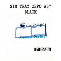 SIM TRAY OPPO A57 BLACK
