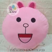boneka bantal karakter line / boneka cony / karakter cony pink
