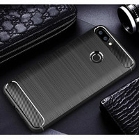 Luxury case ASUS ZENFONE MAX PLUS M1 carbon ultra thin casing slim
