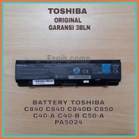 Baterai Original Laptop Toshiba L800 C800 M840 C840 PA5024