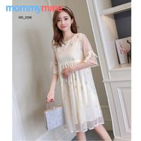 Mommymine Baju Hamil / Dress Hamil Menyusui Impor (MD_6266)