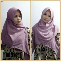 hijab Segi Tiga Instant Wolfis / segi tiga instant / jilbab instant