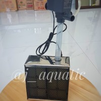 Filter aquarium tanpa kuras ukuran Sedang dengan bahan Stainless