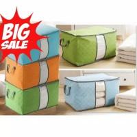 Bamboo Storage Bag atau Box Pakain Lipat