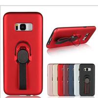 Samsung Galaxy S8 Case Stand Ring Holder Magnet Bumper Matte Casing