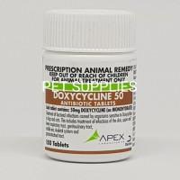 obat antibiotik anjing kucing DOXYCYCLINE 50 mg