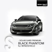 Kaca Film Depan Solar Gard Premium Black Phantom Kategori Small