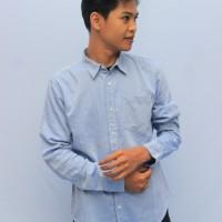 Baju Pria - Atasan Pria - Kemeja Pria - MYD Shirt Slim Fit BABY BLUE