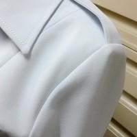 READY seragam blazer putih PDH PNS atasan saja bahan stretch T163