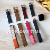 Strap leather single tour apple watch Hermes 42mm 38 kulit iwatch band
