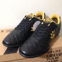 Paling Murah Sale Sepatu Futsal Kelme Power Grip Black Gold 1102091