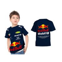 PROMO !!! Kaos / Baju / Tshirt Anak Fullprint Jersey Mobil F1 Red Bull