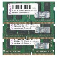 V-GEN RAM SODIMM DDR4 8GB PC-21300 2666Mhz Original Garansi Lifetime !