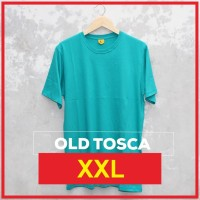 Kaos Polos XXL OLD TOSCA / Baju Polos Size XXL Lengan Pendek