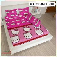 Sprei Lady Rose - KITTY & DANIEL PINK - 160x200 (Queen) Bantal 2