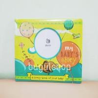 My Baby Journal/Buku Jurnal Bayi Unisex, Cartoon Edition - kado bayi