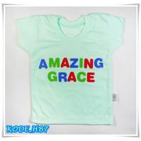 Hello Baby Pakaian Baju Kaos Oblong Anak Bayi Uk. S - HB7
