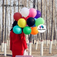 Balon Latex Doff / Balon Latex Doff Aneka Warna Per Pack (100pcs)