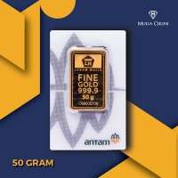 Emas Logam Mulia Antam 50 Gram Press