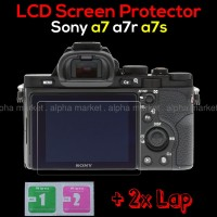 Anti gores LCD Screen Protector Guard Kamera Sony Alpha a7 a7r a7s