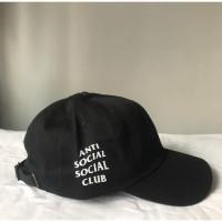 ASSC Weird Cap Black