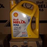 oli mobil shell helix hx6 . 10w-40 . 4L