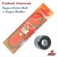 Paket Super Roller V Belt BRT Honda Beat Fi Injection