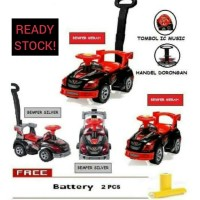 SHP TOYS SD 606 Mainan Mobilan anak/Mobil Dorong/Sepeda Anak SD606
