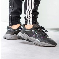 Sepatu Pria Adidas Ozweego Adiprene Black Grey