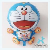 Murah Balonasia Paket Dekorasi Ulang Tahun Tema Doraemon Elegan