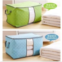 C42 ( Model Tidur ) Bamboo Storage Bag Colorful / Organizer Baju / Box