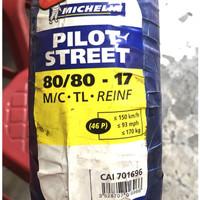 BAN MICHELIN PILOT STREET TUBLES 80/80-17 Michelin 80 80 17