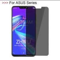 Tempered Anti Spy Asus Zenfone Max Pro M2 Anti Gores Privacy ZB631KL