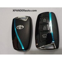 Toyota PKE passive keyless entry push start engine mobil jaman now