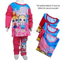 Baju Tidur Setelan Anak Perempuan Piyama LOL Surprise