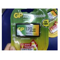 Baterai GP rechargeable 170mAh 9 volt Original