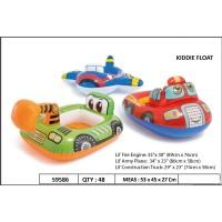 Pelampung Renang Duduk Anak INTEX 59586 | Ban Polisi Pesawat Mobil