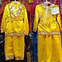 Baju Adat Padang Anak Perempuan kostum karnaval kartinian tarian