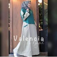 Valencia by gagil dress Termurah balotelli Muslim Wanita Murah gamis m