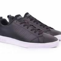 sepatu ADIDAS neo advantage sepatu adidas neo black white sepatu pria