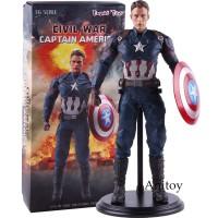 ML Action Figure PVC Model Captain America 3 Civil War untuk Koleksi