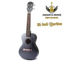 New Ukulele Kayu Solid 26 Inch Bariton Import Harga Terjangkau
