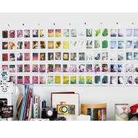 Paling Murah Wall Pocket Mini Photo Album 10 Foto Polaroid Instax