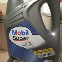 mobil super 2000 10w-40 galon 4 liter