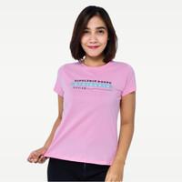 SEYES S5912 Tumblr Tee T-Shirt Kaos Premium Baju Atasan Wanita Pink - Merah Muda