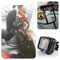 breket + holder hp gps anti air pnp yamaha nmax