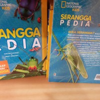 National geographic kids serangga pedia Seranggapedia HC buku lengkap