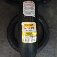 Ban Pirelli Diablo superbike 120 70 17 not Batlax Michelin