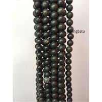 Black Jade 12mm magnetic bahan gelang kalung kesehatan premium akik