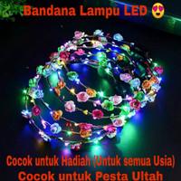 Bandana Dengan Lampu LED Sangat Cocok Untuk Pesta dan Ulang Tahun